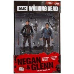 THE WALKING DEAD NEGAN AND GLENN 2-PACK ACTION FIGURE