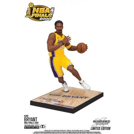 NBA KOBE BRYANT L.A. LAKERS NBA FINALS 2000 18CM ACTION FIGURE