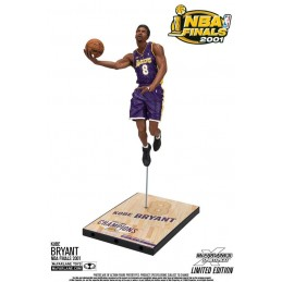 NBA KOBE BRYANT L.A. LAKERS NBA FINALS 2001 18CM ACTION FIGURE