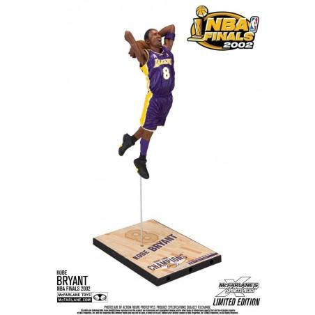 NBA KOBE BRYANT L.A. LAKERS NBA FINALS 2002 18CM ACTION FIGURE