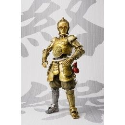 BANDAI STAR WARS KARAKURI C-3PO MEISHO MOVIE REALIZATION ACTION FIGURE