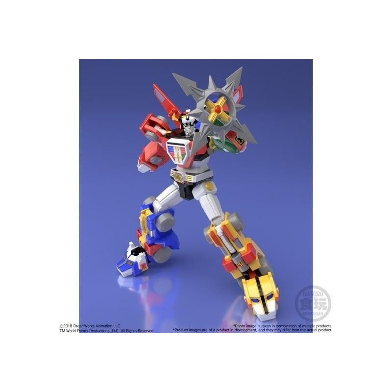 BANDAI VOLTRON SUPER MINIPLA SDDC COMICON LIMITED EDITION SET MODEL KIT 18CM ACTION FIGURE