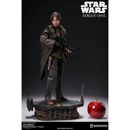 STAR WARS ROGUE ONE - JYN ERSO 50CM PREMIUM FORMAT STATUE SIDESHOW