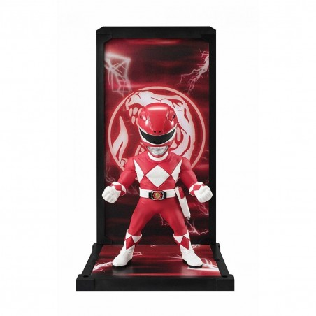 POWER RANGERS - RED RANGER TAMASHII BUDDIES 10CM ACTION FIGURE