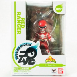 POWER RANGERS - RED RANGER TAMASHII BUDDIES 10CM ACTION FIGURE BANDAI