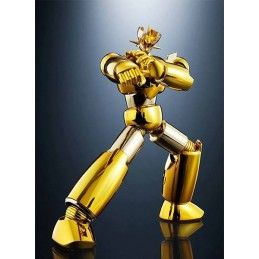 SRC SUPER ROBOT CHOGOKIN MAZINGER Z GOLD VERSION ACTION FIGURE BANDAI