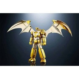 BANDAI SRC SUPER ROBOT CHOGOKIN MAZINGER Z GOLD VERSION ACTION FIGURE