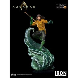 AQUAMAN MOVIE AQUAMAN BDS ART SCALE 1/10 STATUE RESIN FIGURE