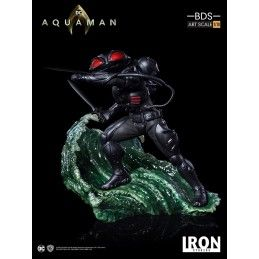 IRON STUDIOS AQUAMAN MOVIE BLACK MANTA BDS ART SCALE 1/10 STATUE RESIN FIGURE
