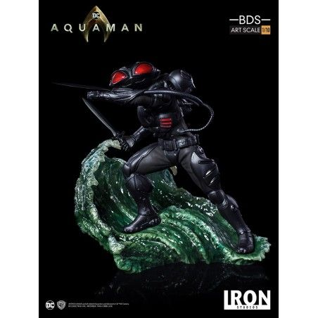 AQUAMAN MOVIE BLACK MANTA BDS ART SCALE 1/10 STATUE RESIN FIGURE