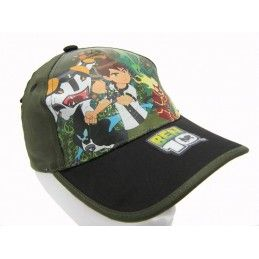 CAPPELLO BASEBALL CAP BEN 10 ALIEN FORCE VERDE