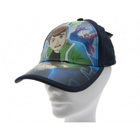 CAPPELLO BASEBALL CAP BEN 10 ALIEN FORCE BLU
