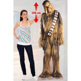 STAR WARS CHEWBACCA LIFESIZED 198 CM CUTOUT SAGOMATO STAR
