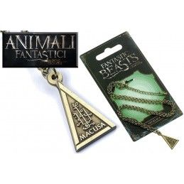 ANIMALI FANTASTICI - FANTASTIC BEASTS MACUSA NECKLACE COLLANA CON CIONDOLO CARAT