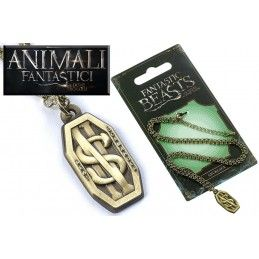 ANIMALI FANTASTICI - FANTASTIC BEASTS SCAMANDER NECKLACE COLLANA CON CIONDOLO CARAT