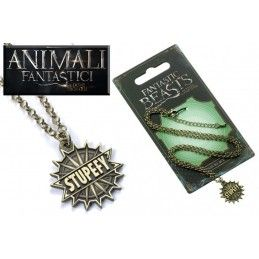 CARAT ANIMALI FANTASTICI - FANTASTIC BEASTS STUPEFY NECKLACE COLLANA CON CIONDOLO