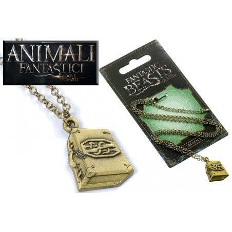 ANIMALI FANTASTICI - FANTASTIC BEASTS SUITCASE NECKLACE COLLANA CON CIONDOLO