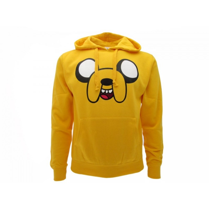 FELPA HOODIE ADVENTURE TIME JAKE GIALLA