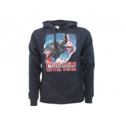 FELPA HOODIE MARVEL AVENGERS CAPTAIN AMERICA CIVIL WAR