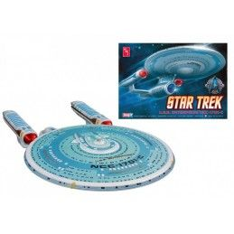 STAR TREK U.S.S. ENTERPRISE NCC-1701-C 1/2500 MODEL KIT AMT