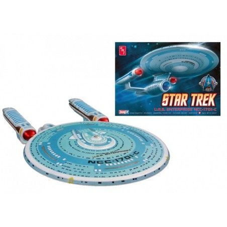 STAR TREK U.S.S. ENTERPRISE NCC-1701-C 1/2500 MODEL KIT