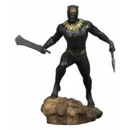 MARVEL GALLERY BLACK PANTHER MOVIE KILLMONGER STATUE FIGURE DIAMOND SELECT