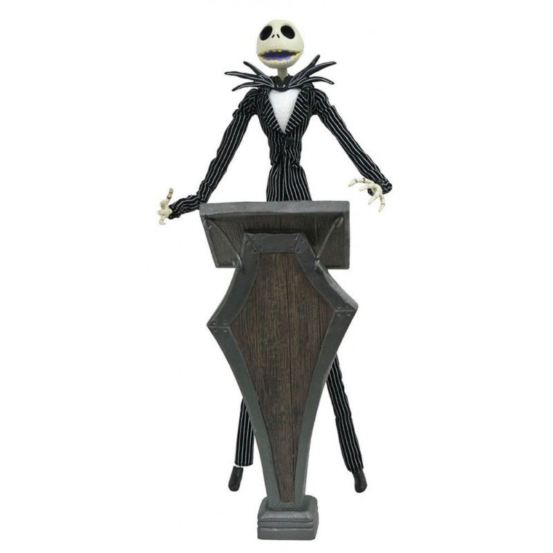 NIGHTMARE BEFORE CHRISTMAS - SILVER ANNIVERSARY JACK ACTION FIGURE DIAMOND SELECT