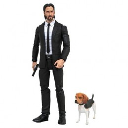 JOHN WICK MOVIE SELECT - JOHN WICK ACTION FIGURE