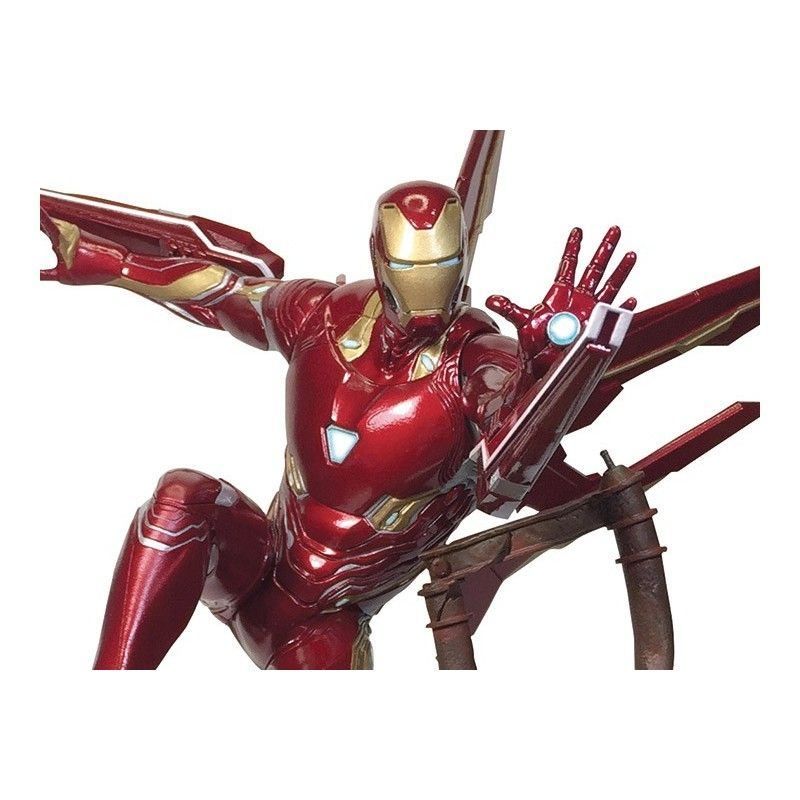 DIAMOND SELECT MARVEL PREMIER COLLECTION IRON MAN MARK 50 RESIN STATUE 40 CM FIGURE