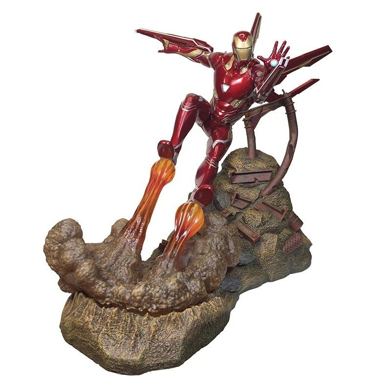 MARVEL PREMIER COLLECTION IRON MAN MARK 50 RESIN STATUE 40 CM FIGURE