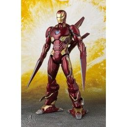 BANDAI AVENGERS INFINITY WAR - IRON MAN MK50 NANO WEAPON S.H. FIGUARTS ACTION FIGURE