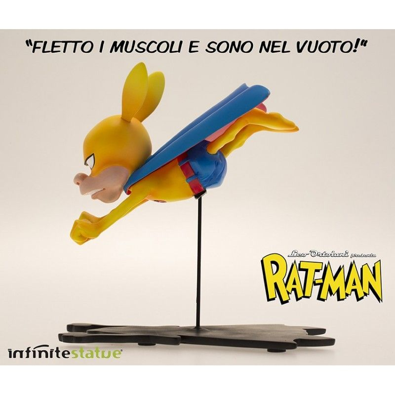 RAT-MAN THE INFINITE COLLECTION N.6 STATUE LEO ORTOLANI INFINITE STATUE
