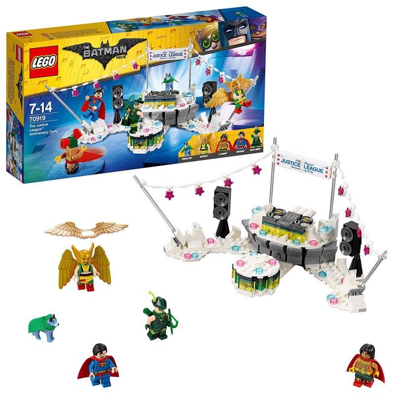 LEGO BATMAN THE MOVIE - THE JUSTICE LEAGUE ANNIVERSARY PARTY 70919