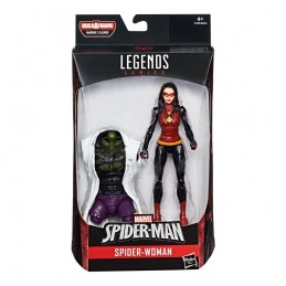 MARVEL LEGENDS SERIES LIZARD - SPIDER-WOMAN NOIR ACTION FIGURE HASBRO