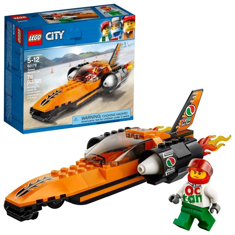 LEGO CITY - BOLIDE RECORD SPEED RECORD CAR 60178