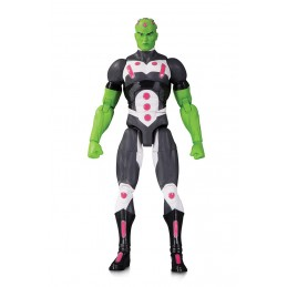 DC COMICS ESSENTIALS - BRAINIAC ACTION FIGURE