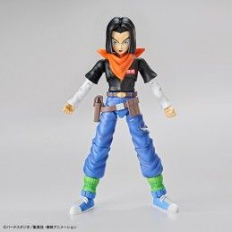 DRAGON BALL Z FIGURE RISE ANDROID C-17 MODEL KIT ACTION FIGURE BANDAI