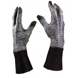 TRICK OR TREAT STUDIOS GAME OF THRONES WHITE WALKER DELUXE LATEX MANI GUANTI GLOVES HANDS
