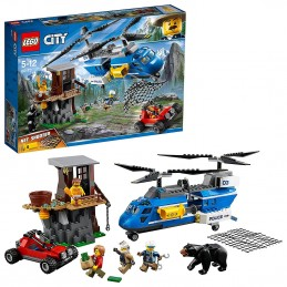 LEGO CITY - ARRESTO IN MONTAGNA MOUNTAIN ARREST 60173