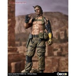 METAL GEAR SOLID 5 VENOM SNAKE PLAY DEMO 1/6 SCALE STATUE 32CM FIGURE GECCO