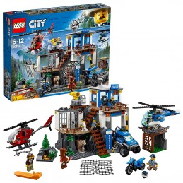 LEGO CITY POLICE - QUARTIER GENERALE POLIZIA MOUNTAIN POLICE HEADQUARTERS 60174