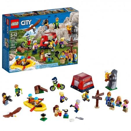 LEGO CITY - AVVENTURA ALL'ARIA APERTA PEOPLE PACK 60202