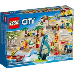 LEGO CITY - SPIAGGIA FUN AT THE BEACH PEOPLE PACK 60153