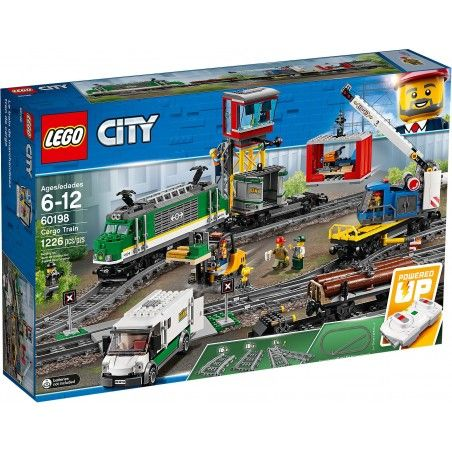 LEGO CITY - CARGO TRAIN TRENO MERCI 60198