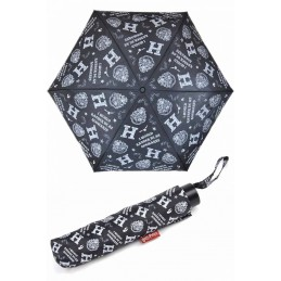 HARRY POTTER HOGWARTS FOLDED UMBRELLA OMBRELLO COMPATTO
