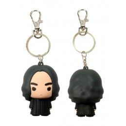 HARRY POTTER SEVERUS SNAPE FIGURATIVE KEYCHAIN PORTACHIAVI FIGURE IN GOMMA