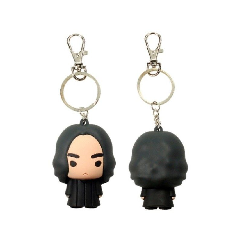 SD TOYS HARRY POTTER SEVERUS SNAPE FIGURATIVE KEYCHAIN PORTACHIAVI FIGURE IN GOMMA