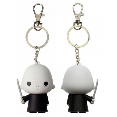 HARRY POTTER LORD VOLDEMORT FIGURATIVE KEYCHAIN PORTACHIAVI FIGURE