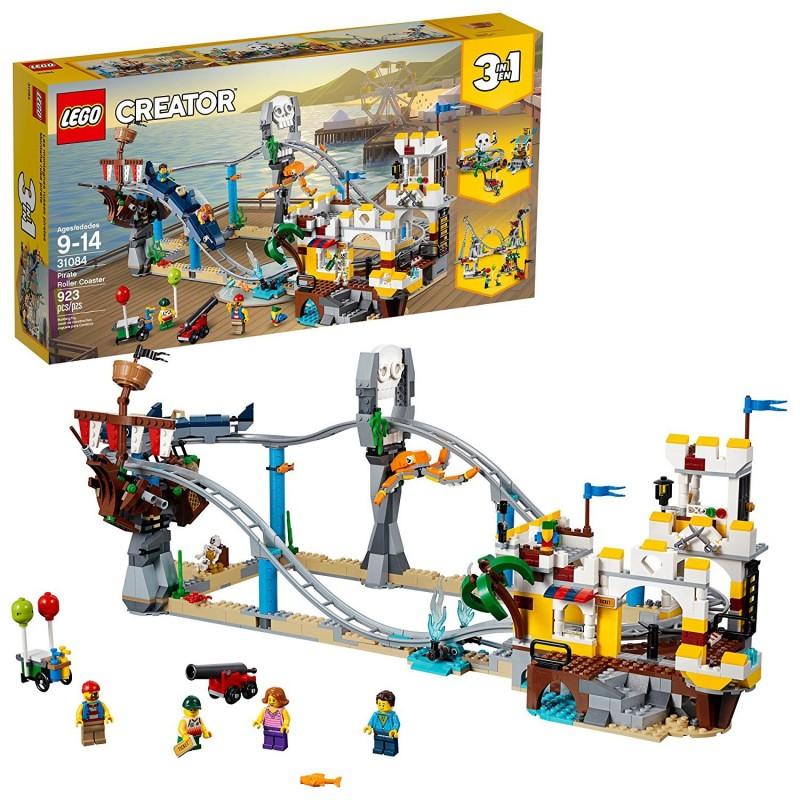 LEGO CREATOR MONTAGNE RUSSE DEI PIRATI 31084