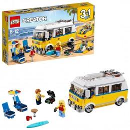 LEGO CREATOR SURFER VAN GIALLO Sunshine Surfer Van 31079